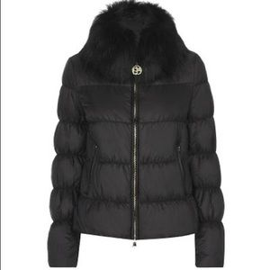 Class Roberto Cavalli Down Quilted Puff Jacket